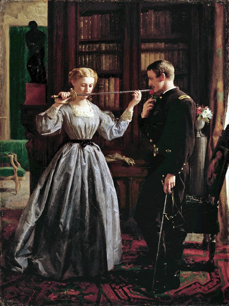 George Cochran Lambdin - The Consecration